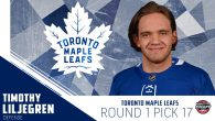 Maple Leafs Select Timothy Liljegren 17th Overall
