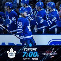 Game 6: Toronto Maple Leafs VS Washington Capitals