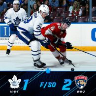 Game 23: Toronto Maple Leafs VS Florida Panthers