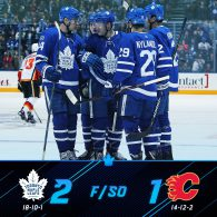 Game 29: Toronto Maple Leafs VS Calgary Flames
