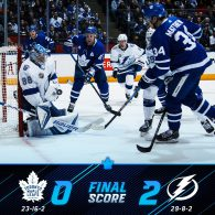 Game 41: Toronto Maple Leafs VS Tampa Bay Lightning