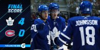 Game 72: Toronto Maple Leafs VS Montreal Canadiens