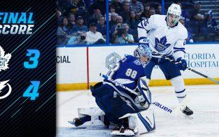Game 73: Toronto Maple Leafs VS Tampa Bay Lightning