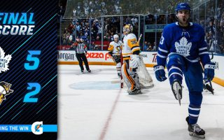 Game 69: Toronto Maple Leafs VS Pittsburgh Penguins