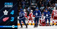 Game 75: Toronto Maple Leafs VS Detroit Red Wings