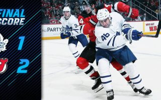 Game 81: Toronto Maple Leafs VS New Jersey Devils