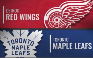 Pre-Season Game 8: Toronto Maple Leafs @ Detroit Red Wings (L 5-1)
