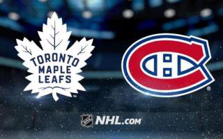 Pre-Season Game 5: Montreal Canadiens @ Toronto Maple Leafs (FINAL L 5-1)