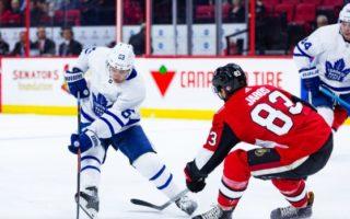 Pre-Season Game 2: Toronto Maple Leafs VS Ottawa Senators (Leafs W 4-1)