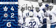 Game 10: Toronto Maple Leafs @ Winnipeg Jets (W 4-2)