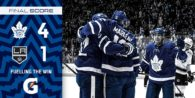 Game 7: Los Angeles Kings @ Toronto Maple Leafs (W 4-1)