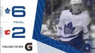 Game 66: Toronto Maple Leafs VS Calgary Flames (W 6-2)