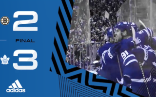 ECQF Game 3: Boston Bruins @ Toronto Maple Leafs (W 3-2)