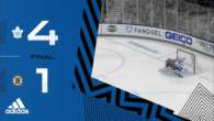 ECQF Game 1: Toronto Maple Leafs @ Boston Bruins (W 4-1)