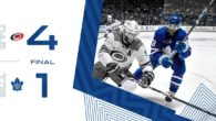 Game 80: Carolina Hurricanes VS Toronto Maple Leafs (L 4-1)