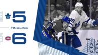 Game 82: Toronto Maple Leafs VS Montreal Canadiens (SOL 6-5)
