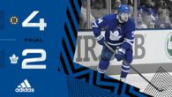 ECQF Game 6: Boston Bruins @ Toronto Maple Leafs (L 4-2)