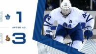 Pre-Season Game 1: Ottawa Senators @ Toronto Maple Leafs (L 3-1)