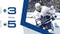 Pre-Season Game 4: Toronto Maple Leafs @ Buffalo Sabres (L 5-3)