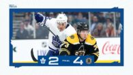 Game 11: Toronto Maple Leafs @ Boston Bruins (L 4-2)