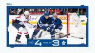 Game 14: Washington Capitals @ Toronto Maple Leafs (OTL 4-3)