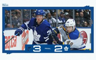 Game 4: St. Louis Blues @ Toronto Maple Leafs (L 3-2)