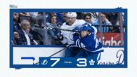 Game 5: Tampa Bay Lightning @ Toronto Maple Leafs (L 7-3)