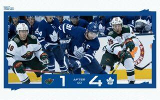 Game 7: Minnesota Wild @ Toronto Maple Leafs (W 4-2)