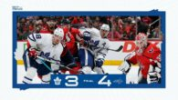 Game 8: Toronto Maple Leafs @ Washington Capitals (L 4-3)