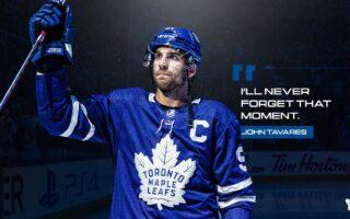 John Tavares Introduced As New Maple Leafs Captain