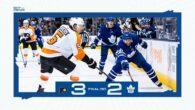 Game 18: Philadelphia Flyers @ Toronto Maple Leafs (SOL 2-1)