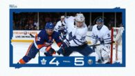 Game 20: Toronto Maple Leafs @ New York Islanders (L 5-4)