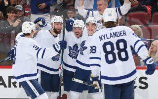 Game 24: Toronto Maple Leafs @ Arizona Coyotes (W 3-1)