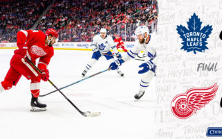 Game 26: Toronto Maple Leafs VS Detroit Red Wings (W 6-0)