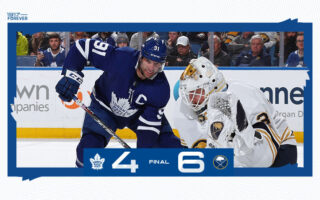 Game 27: Toronto Maple Leafs @ Buffalo Sabres (L 6-4)