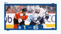 Game 29: Toronto Maple Leafs @ Philadelphia Flyers (L 6-1)