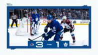 Game 30: Colorado Avalanche @ Toronto Maple Leafs (L 3-1)