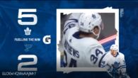Game 31: Toronto Maple Leafs @ St Louis Blues (W 5-2)