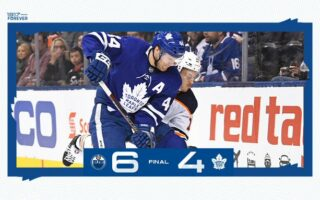 Game 44: Edmonton Oilers @ Toronto Maple Leafs (L 6-4)